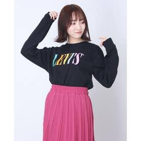 ■Levi's for earthマルチカラー長袖Tシャツ (Black)