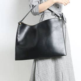 Sculptured Shoulder Bag (BLACK)