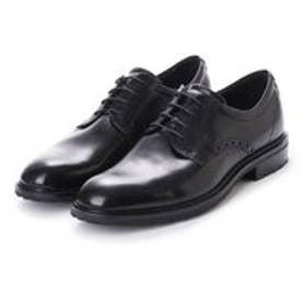 Vitrus I Plain Toe Tie (BLACK)