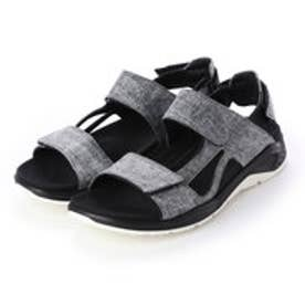 Mens X-TRINSIC Flat Sandal (BLACK/CONCRETE)