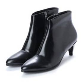 Shape 45 Kitten Heel Boot (BLACK)