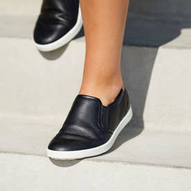 LEISURE Slip-on (BLACK/POWDER)