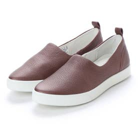 Gillian Slip On (DEEP TAUPE/BRONZE)