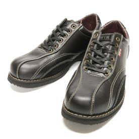 スニーカー メンズカジュアルシューズ 靴 ローカット EDM5550 24.5 25 25.5 26 26.5 27 父の日 (ブラック)