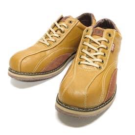 スニーカー メンズカジュアルシューズ 靴 ローカット EDM5550 24.5 25 25.5 26 26.5 27 父の日 (キャメル)