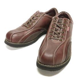 スニーカー メンズカジュアルシューズ 靴 ローカット EDM5550 24.5 25 25.5 26 26.5 27 父の日 (ダークブラウン)