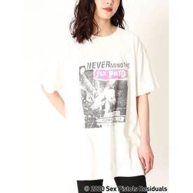 セックスピストルズオーバーホワイトTシャツ (WHITE)