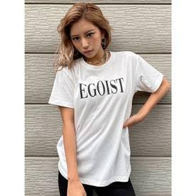EGOISTロゴTシャツ (WHITE)
