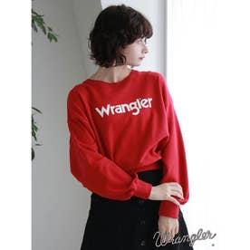 WRANGLER ロングスウェット (Red)
