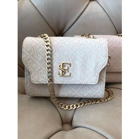 ES Monogram Chain Mini Bag (IVORY)