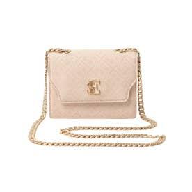 ES Monogram Chain Mini Bag (PINK)