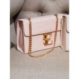 ES Monogram Chain Bag (PINK)