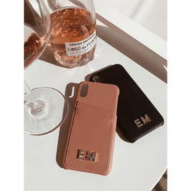 EM CrystalロゴiPhoneケースX/XS (BLACK)