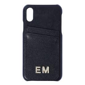 EM CrystalロゴiPhoneケース11 (BLACK)