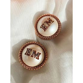EM pearlイヤリング BOX入り (PINK)