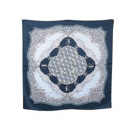 Limited ES patternスカーフ (NAVY)