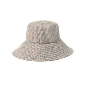 Color Tweed Bucket Hat (GREY)