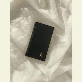 ESモチーフiPhoneフリップケース  7/8/SE (BLACK)