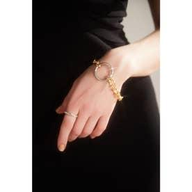 SV925 slim twist ring (SILVER)