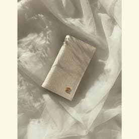 ESモチーフiPhoneフリップケース X/XS (WHITE)