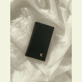 ESモチーフiPhoneフリップケース X/XS (BLACK)