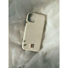 ESモチーフiPhoneケース X/XS (WHITE)