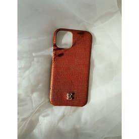ESモチーフiPhoneケース X/XS (BROWN)