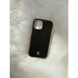 ESモチーフiPhoneケース 12/12PRO (BLACK)