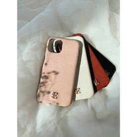 ESモチーフiPhoneケース 12/12PRO (PINK)