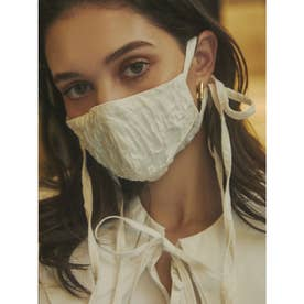 emverフラワージャガードマスク 【返品不可商品】 (WHITE)