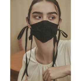 emverフラワージャガードマスク 【返品不可商品】 (BLACK)