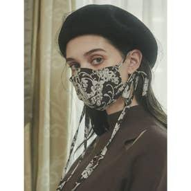 emverフラワージャガードマスク 【返品不可商品】 (BROWN)