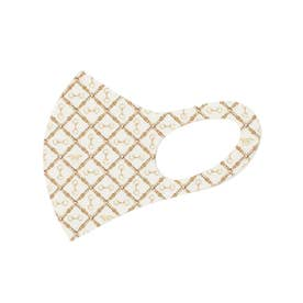horse pattern マスク【返品不可商品】 (IVORY)