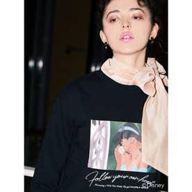 Jasmine Follow your own heartロングTシャツ (BLACK)