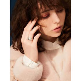 eimy jewelry クロワッサンリング SILVER (SILVER)