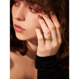 eimy jewelry ランダムリング GOLD (GOLD)