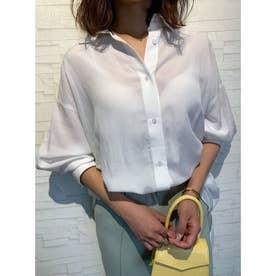 バックオープンビッグシャツ (WHITE)