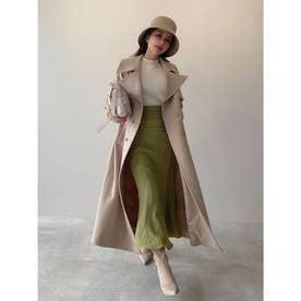 belted chester coat (BEIGE)