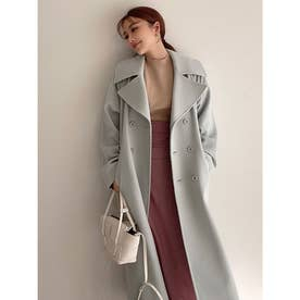 belted chester coat (MINT)
