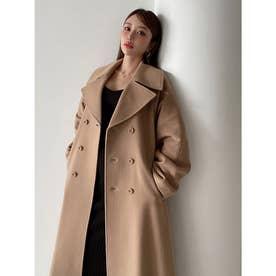 belted chester coat (CAMEL)