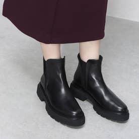 ELVIOZANON for nouer ゴムソールショートブーツ(black) (ブラック)