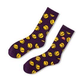 Tennisball Socks (PURPLE)