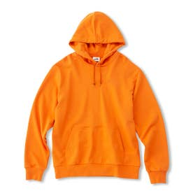 Collage Sweat Parka (ORANGE)