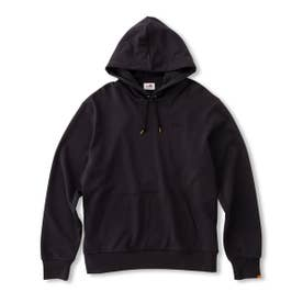 Collage Sweat Parka (BLACK)