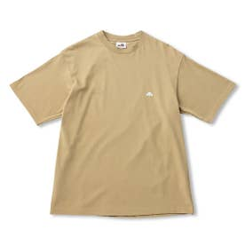 S/S Back Square Tee (BEIGE)