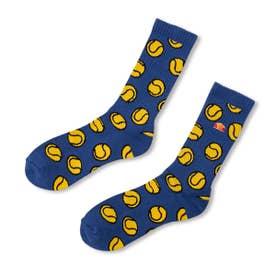 Tennisball Socks (BLUE)