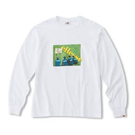 L/S Collage Tee (WHITE)
