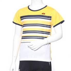 レディース テニス 半袖Tシャツ S/Sプラクティスボーダークルー EW08328