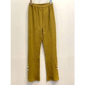 slit pearl libpants (yellow)