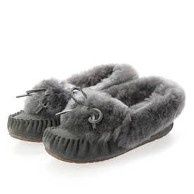 Amity Cuff Fur (Charcoal)